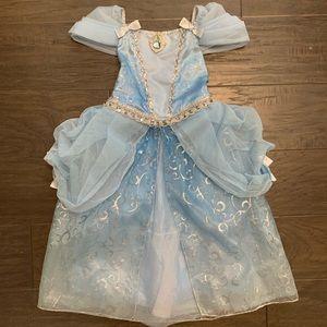 Disney Store Cinderella Princess blue dress size 4